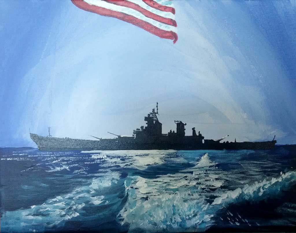 Aaron Burks Battleship