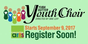 Yuba Sutter Youth Choir Fall 2017